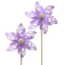 Vindmølle Mini Purple Ø9cm 12stk
