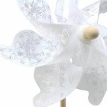 Vindmølle hvid Ø30cm