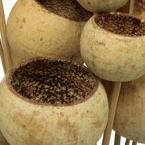 Bell Cup mix på en pind naturlig 15stk