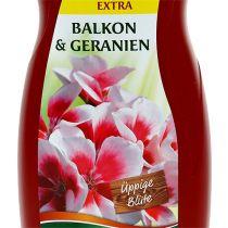 Chrysal balkongplantegødning og geraniumgødning (1,2 l)