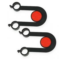 Udskiftningsbeslag til dispenser til curlingbånd 1 par
