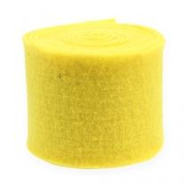 Filt bånd gul 15 cm 5m