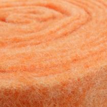 Filtbånd orange 15 cm 5m