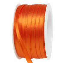 Gave- og pyntebånd 6mm x 50m orange