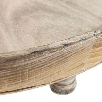 Træskål brun Ø40cm