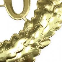 Jubilæum nummer 70 i guld Ø40cm