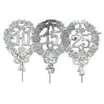 Jubilæumsnumre sølv