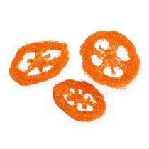 Loofah skiver orange 25stk