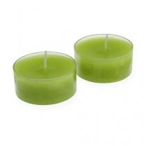 Maxi lyser grøn Ø5,7cm 4stk