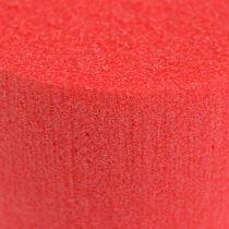 Cylinder Ø8cm rød 6stk