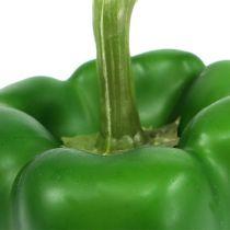 Dekorativ paprikagrøn 9cm