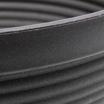 R-shell plast anthracit Ø13cm - 19 cm 10stk