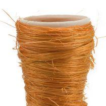 Spids vase Sisal Orange Ø4,5cm L60cm 5stk