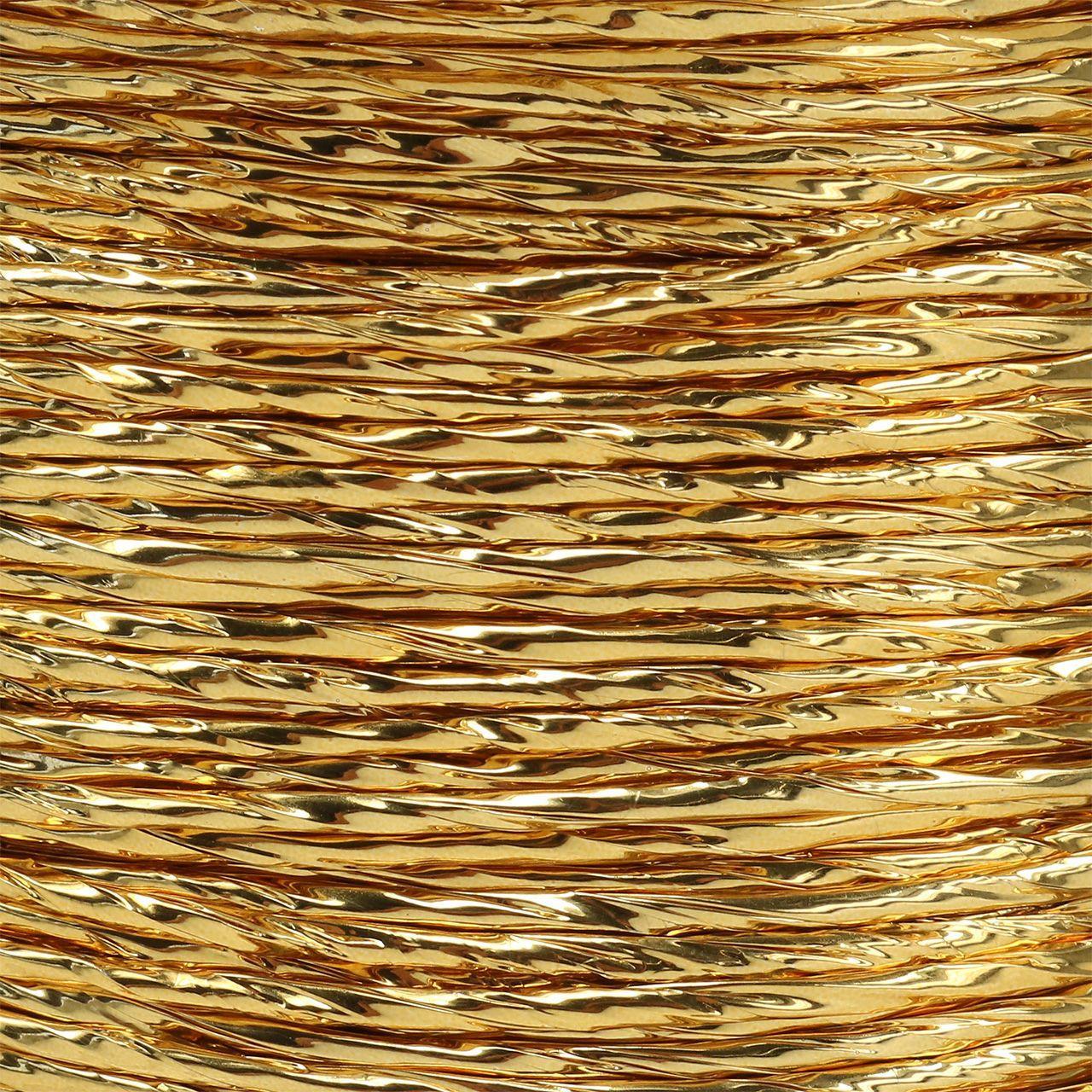 Wire indpakket i guld Ø2mm 100m