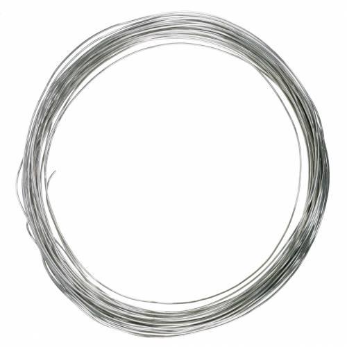 Aluminiumstråd Ø3mm sølv 1 kg