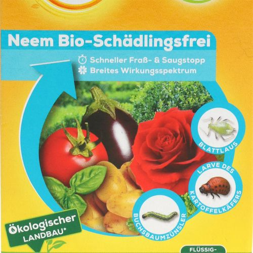 Solabiol Neem organisk skadedyrfri 60 ml