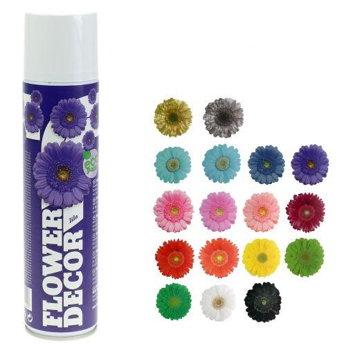 Blomster spray blomster udsmykning forskellige farver 400ml