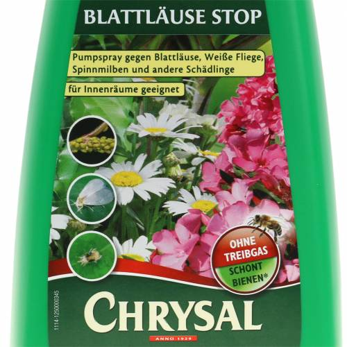 Chrysal bladlus STOP plantepumpe spray 500 ml