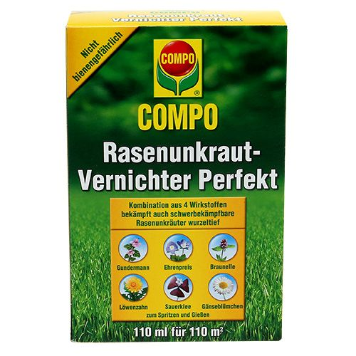 Compo lawn weed killer perfect 110ml
