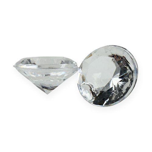 Deco diamanter 12 mm naturlige 170stk