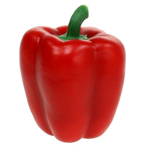 Dekorative grøntsager paprika rød 11 cm