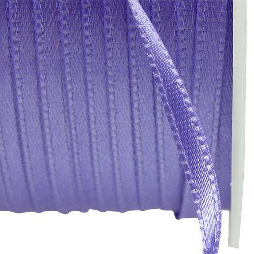 Gave- og dekorationbånd 3mm x 50m lilla