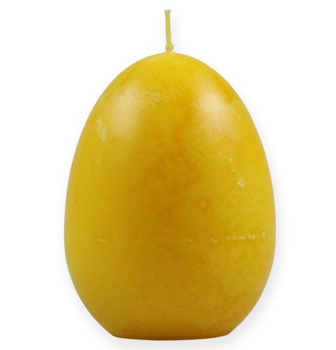 Dekorativ æglys citron 14 cm