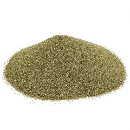 Farve sand 0,5 mm gult guld 2 kg