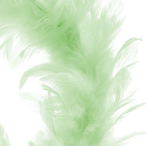 Fjerring lysegrøn Ø20cm 3stk