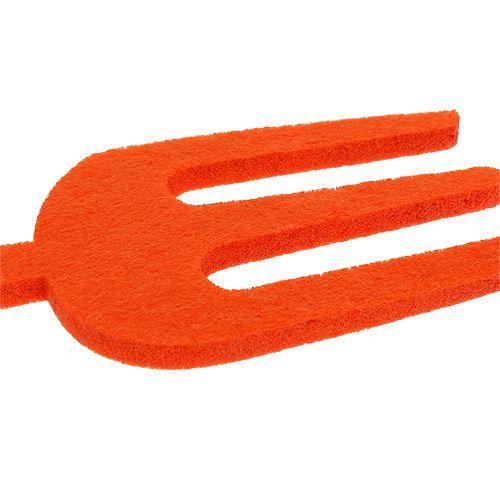 Filt haveværktøj orange 6stk