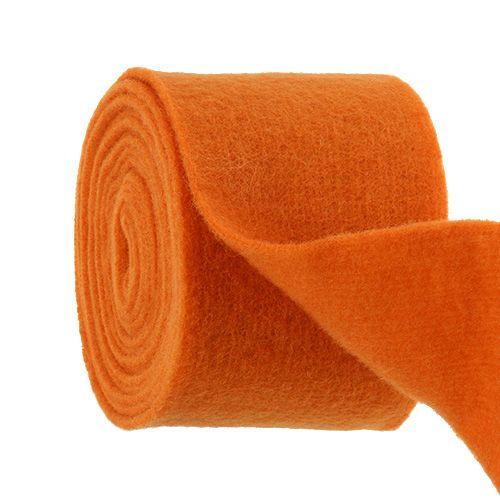 Filtbånd 15 cm x 5m orange
