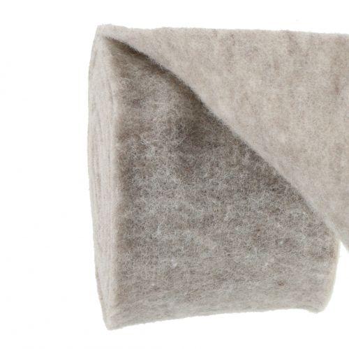 Filt tape, pot tape grå-naturlig 15cm 5m