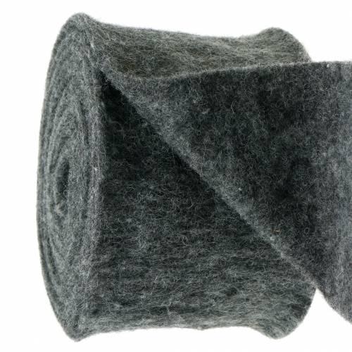 Filtbånd mørkegrå 15 cm 5m