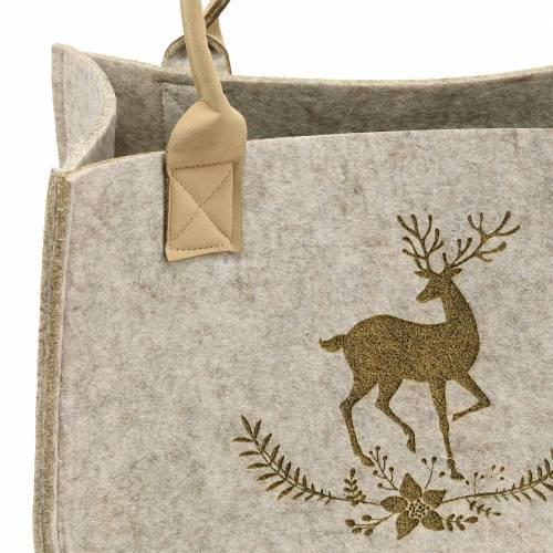Naturfiltpose med hjortemotiv 2-sæt