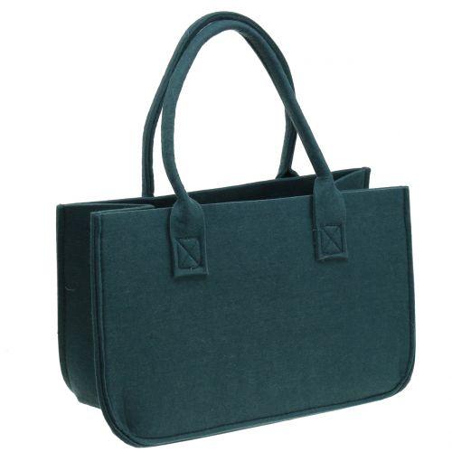 Filtpose blågrå 40 cm x 20 cm x 25 cm