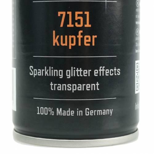 Glitter spray kobber 400ml