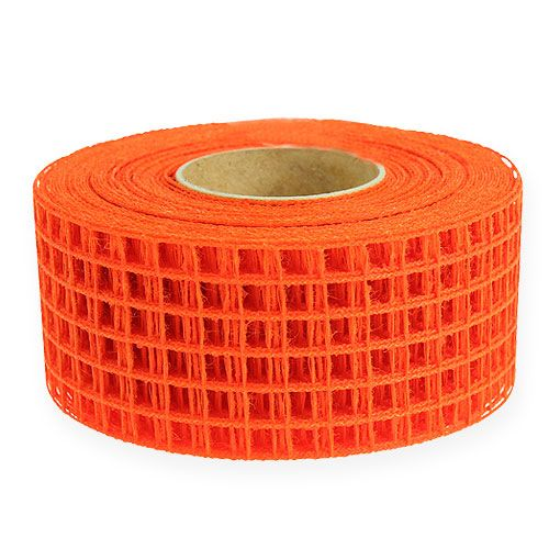 Gitterbånd 4,5 cm x 10 m orange