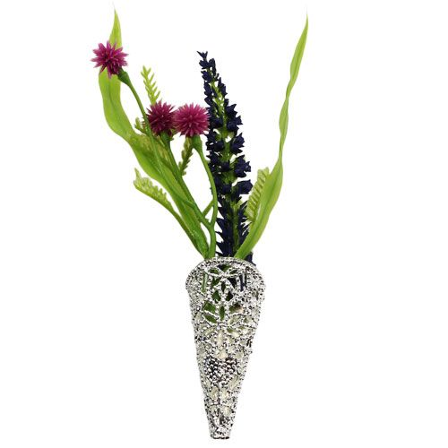 Bryllupstift med magnet sølv 4,5 cm