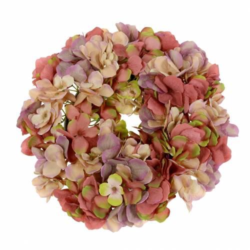 Hortensia krans gammel rose Ø30cm