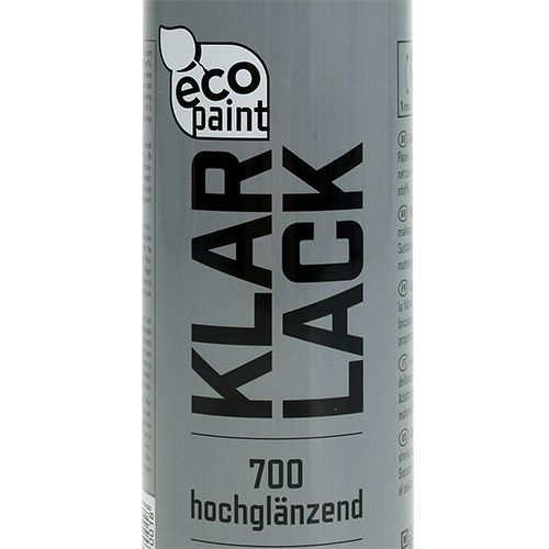 Klar lak spray 400 ml