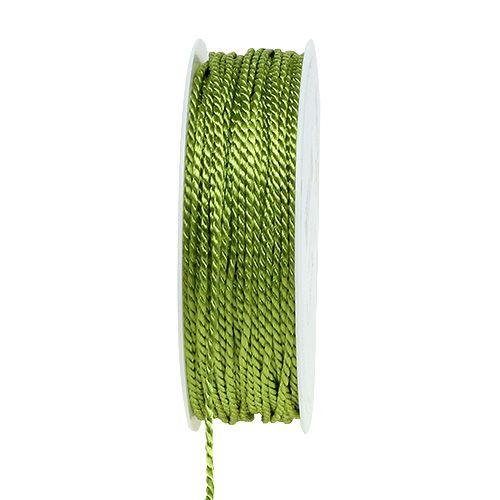 Grøn ledning 2mm 50m