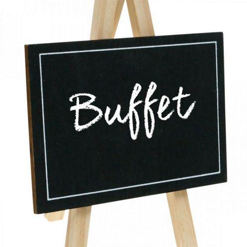 Kridttavle, borddekoration, deco bord, bryllupsdekoration, træplade 6stk