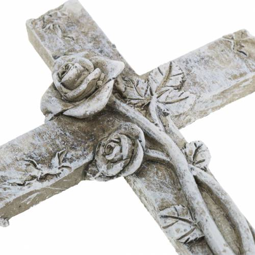 Grave smykkekors 7,5 cm x 11 cm 4stk