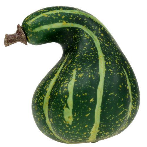 Kunstig Græskar Mørkegrøn 11cm 6stk