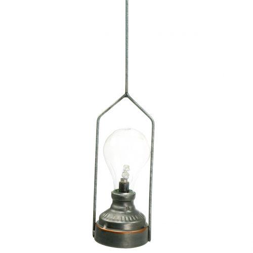 Dekorativ lampe med krog Ø7cm H60cm