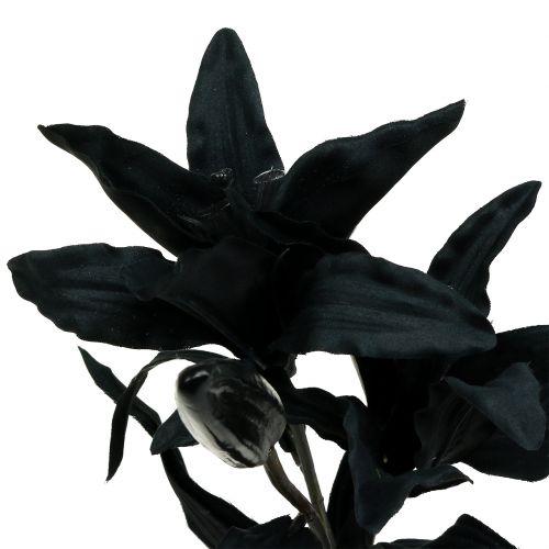 Kunstig blomsterlilje sort 84cm