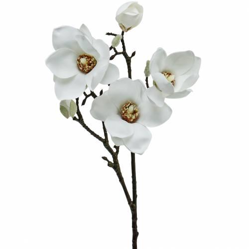 Magnolia gren hvid dekorativ gren magnolia kunstig blomst