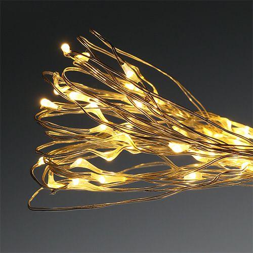 Micro light chain LED udvendigt / indvendigt 120 varmhvid