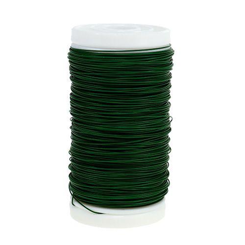 Myrteltråd grøn 0,35 mm 100g