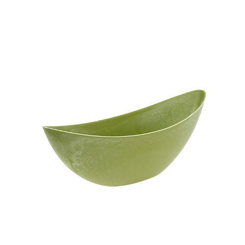 Plastskål 39 cm x 12,5 cm H13cm lysegrøn